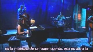 Seven years - Norah Jones live (subtítulos en español)