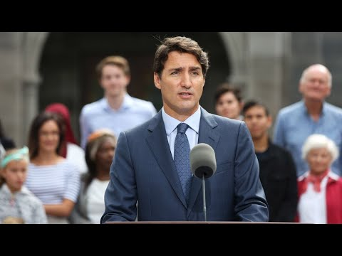 Trudeau in for a tough fight as Canada's election campaign kicks off