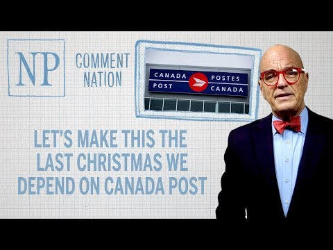 Let's make this the last Christmas we depend on Canada Post