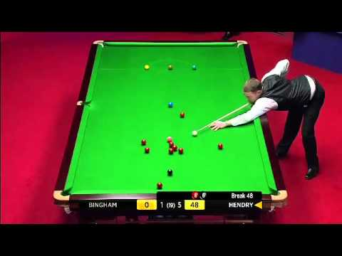 Snooker Worldchampionship the crucible 2012 - Stephen Hendry 147 break