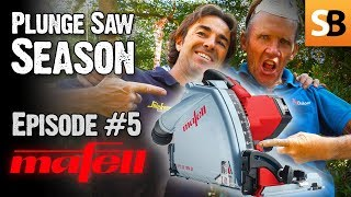MAFELL MT55 18M BL Cordless Plunge Saw - Episode 5