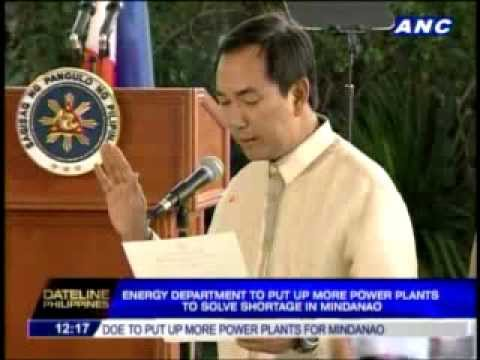 New DOE chief eyes more power plants in Mindanao