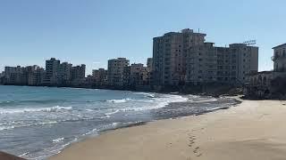 Пляж мертвого города на Кипре заброшка город пустует 46 лет