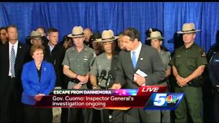Gov. Cuomo, NYSP superintendent host news conference following capture of David Sweat
