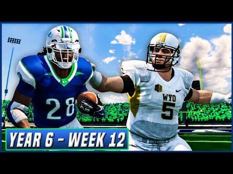 NCAA Football 14 Dynasty Year 6 - Week 12 vs Wyoming   Ep.101