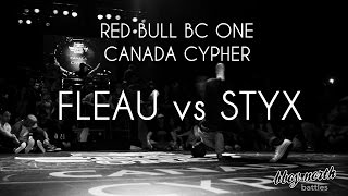 Semi Final - FLEAU vs STYX | RED BULL BC ONE CYPHER CANADA 2015 | BBOY NORTH