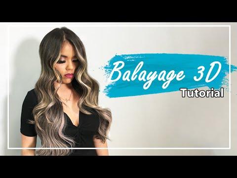 Balayage 3D [MONEY PIECES ] , TUTORIAL COMPLETO