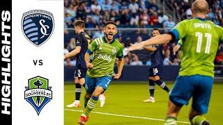 HIGHLIGHTS: Sporting Kansas City vs. Seattle Sounders FC   September 26, 2021