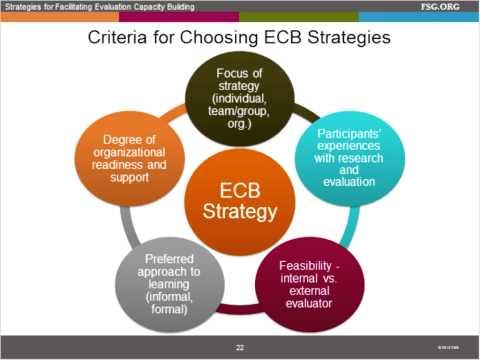 Exploring Effective Strategies for Facilitating Evaluation Capacity Development