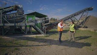 Reciclaje de desechos de la construcción - business planet