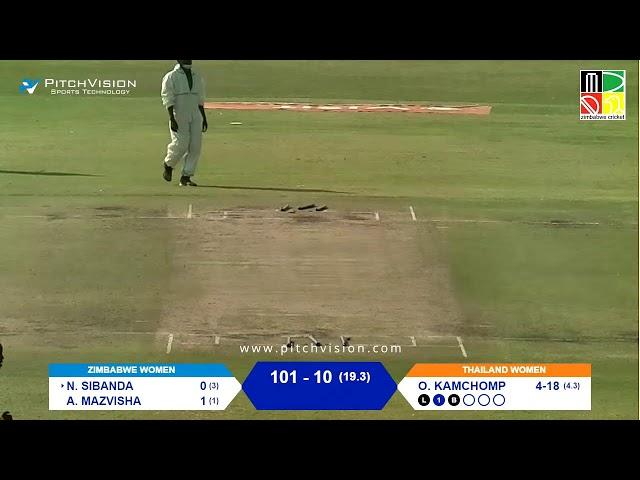 Zimbabwe Women vs Thailand Women | 2nd T20I