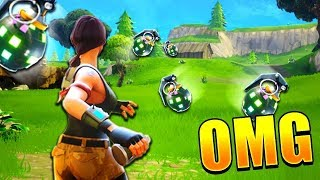FIRST BOOGIE BOMB KILL IN THE WORLD!!? FORTNITE UPDATE!