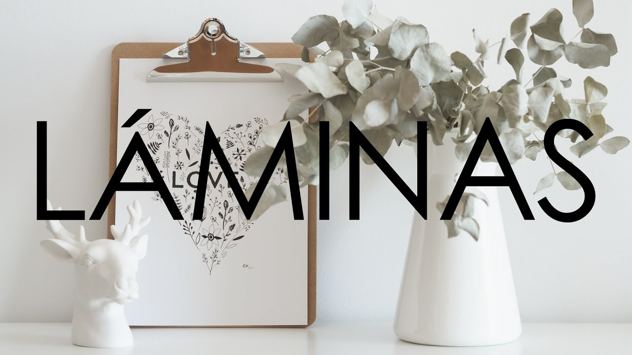 Tips laminas imprimibles estelamaca youtube - Laminas decorativas para pared ...