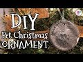 DIY Pet Christmas Ornaments