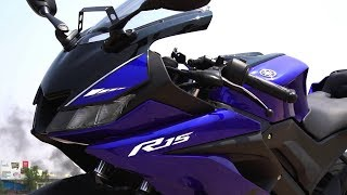 Yamaha R15 V3.0 First Ride Review India, Most Detailed, Exhaust Note #bikes@dinos