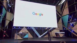 Sundar Pichai Keynote Start at Google IO 2016
