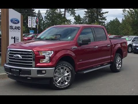2017 ford f 150 xlt fx4 xtr 302a ecoboost supercrew review island ford youtube. Black Bedroom Furniture Sets. Home Design Ideas