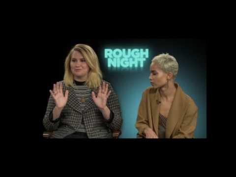 Rough Night Interviews & Behind the Scenes Scarlett Johansson, Kate McKinnon & Cast