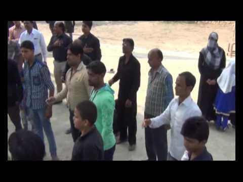Abbas Mere Bhaiya Khaima Yahin Lagado   Husainia Jafrabad   13 Moharram Bahauddeenpur Pawai 2015
