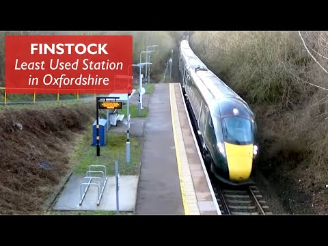 Finstock - Least Used Station in Oxfordshire