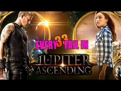 Every Fail In Jupiter Ascending | Everything Wrong With Jupiter Ascending, Mistakes and Goofs