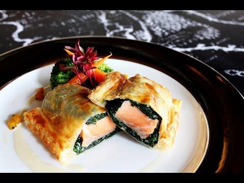 Salmon en Croûte - Brasserie 9