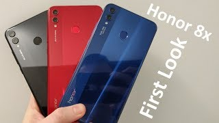 [First Look] Honor 8x - Glass & Tiny Bezels