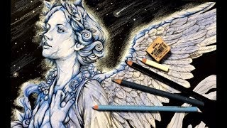 Coloring an Angel from Serene