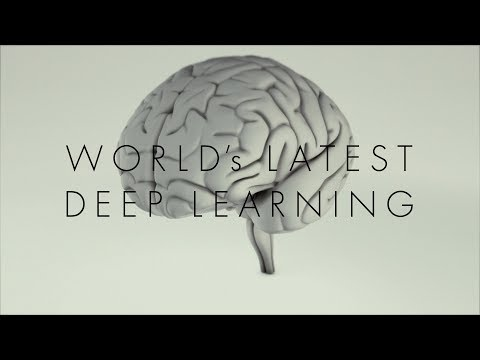 Innovation Japan : World's Latest Deep Learning