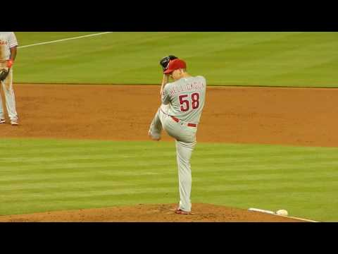 Phillies Jeremy Hellickson Pitching vs Marlins HD