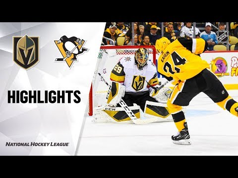 Golden Knights @ Penguins 10/19/19 Highlights