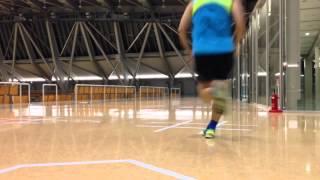 いしかわ総合スポーツセンターを走る(2013.9/2)