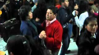 Grupo Sentimiento en Cumbal en la despedida de bachilleres