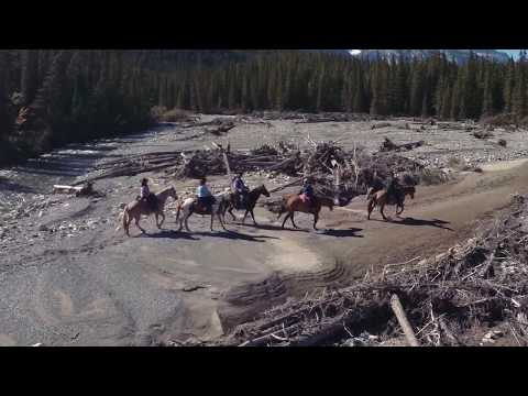 Banff Horseback Riding Trip 6 Day Lodge Adventure | Banff Trail Riders