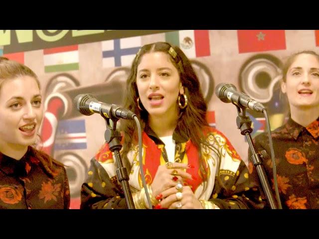 Marina Satti & fonés - To Margoudi | NRK