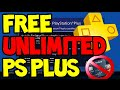 [2018] How to get FREE Playstation Plus (PS+) NO CREDIT CARD REQUIRED! Unlimited Free Trials