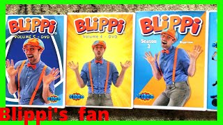 William Got 5 Blippi's DVDS Shows!! WOW!!!