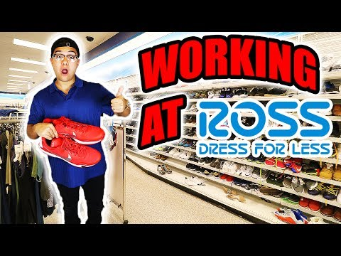 MY NEW JOB!! (WORKING AT ROSS PRANK!!)