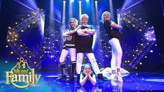 Meest Swingende Surprise Act van 7-jarige Anna | We Are Family 2015 | SBS6