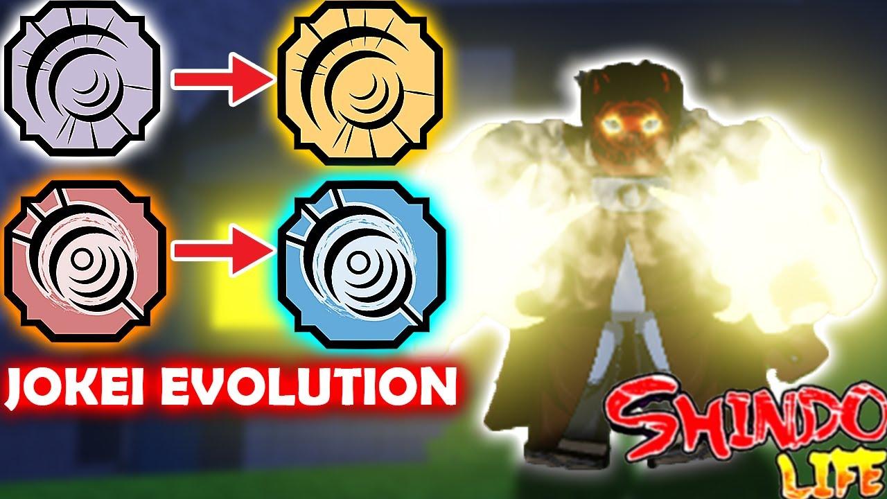 Download ALL JOKEI/BYAKUGAN *EVOLUTION* SHOWCASE!! | WHAT'S THE BEST EYES?! | ROBLOX Shindo Life Rellgames