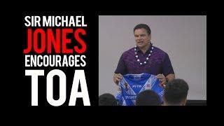 Sir Michael Jones and TOA Samoa