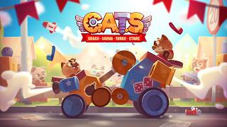 【新作】CATS: Crash Arena Turbo Starsやってみた!面白い携帯スマホゲームアプリ