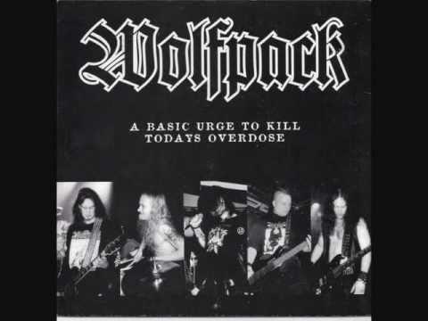 SKITSYSTEM - WOLFPACK split EP (1998)