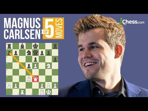 Magnus Carlsen's 5 Most Brilliant Chess Moves