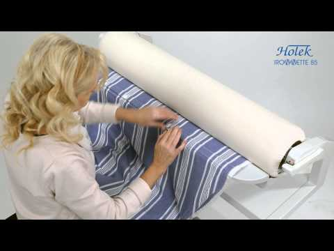 Ironnette - How ti iron bed linen