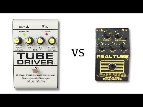 Tube Driver vs Real Tube