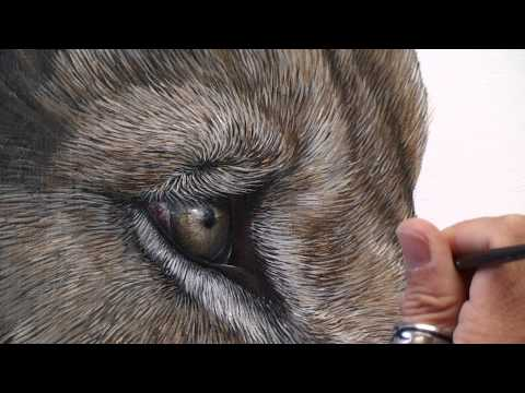 Making of Gracious | a painting by Marcel Witte