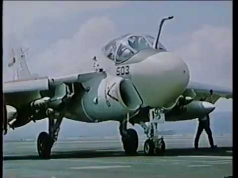 EA 6A Wild Weasel Intruder Aircraft