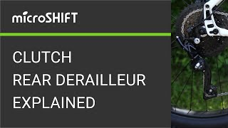 microSHIFT ADVENT Rear Derailleur 9 Speed Black Touring Commuter 1x Drivetrain