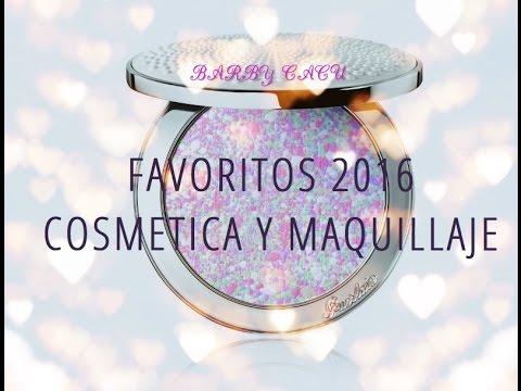 FAVORITOS 2016 MAQUILLAJE Y COSMÉTICA: NARS, MARC JABOBS, MAC, SHISEIDO Y MUCHO MÁS!!!